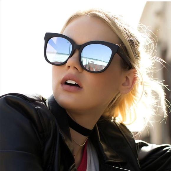 "52cfa4a6ac1 QUAY Australia ""Its My Way"" Oversized Sunglasses NWT"
